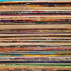 Stack of Records by Joshua Strickland