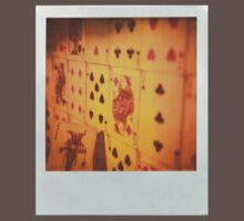 Original 600/SX-70 Polaroid image of Playing cards, Deck, Warm Colours, Retro! by MJWills26