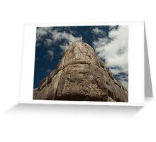 Incan Stonework Greeting Card
