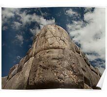 Incan Stonework Poster