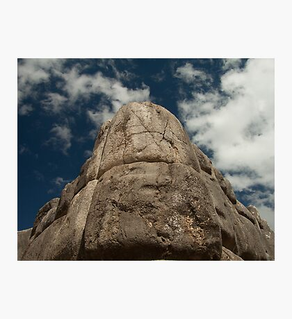 Incan Stonework Photographic Print