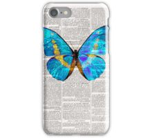 Butterfly Print on Dictionary book iphone case iPhone Case/Skin