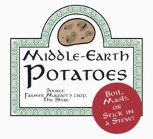 Middle-Earth Potatoes T-Shirt