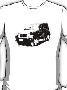 Jeep Wrangler 2012 T-Shirt