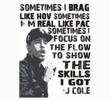J Cole - Born Sinner by lucylewinski