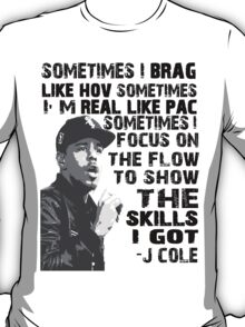 J Cole - Born Sinner T-Shirt