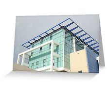 Very Modern Police Headquarters -  Sarasota  Greeting Card