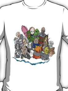 Doctor Who Enemies T-Shirt