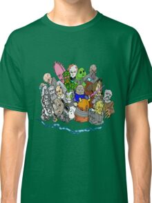 Doctor Who Enemies Classic T-Shirt