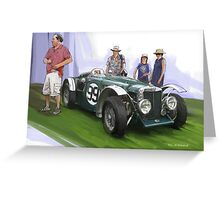 Jacobsen MG Magnette Special Greeting Card