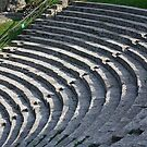 Fiesole Roman Amphitheater by phil decocco