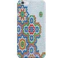 Funky, retro, Moroccan pattern iPhone Case/Skin