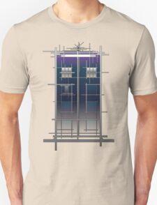 Tardis (White) Unisex T-Shirt