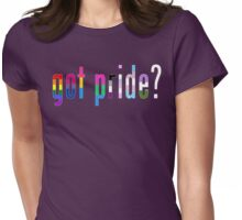 Got Pride? Womens Fitted T-Shirt