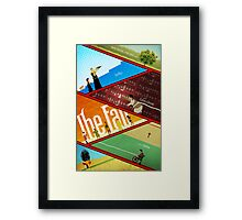 'The Fall' Poster Framed Print