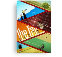 'The Fall' Poster Canvas Print
