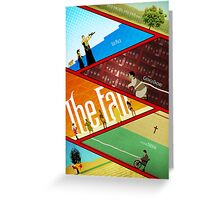 'The Fall' Poster Greeting Card