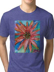 Colorful Christmas Tri-blend T-Shirt