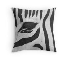 Lux Lashes III Throw Pillow