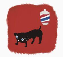 Hairdresser's black dog One Piece - Short Sleeve