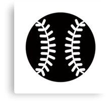 Baseball Ideology Canvas Print
