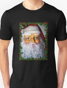 Santa ready for Christmas and his many house visits T-Shirt