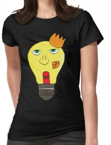 I am not amused! - Queen Victoria lightbulb Womens Fitted T-Shirt