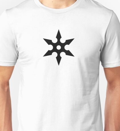 Ninja Shuriken Unisex T-Shirt