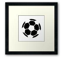 Soccer Ideology Framed Print