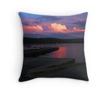 A Perfectly Horrible Day Ruined by a Great Sunset Throw Pillow