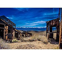 Chemung Mine - Bridgeport, CA Photographic Print