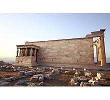 The Erechtheum, Acropolis, Athens 421-405 BC  Photographic Print