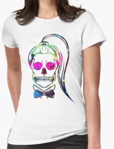 Born This Way Splatter Womens Fitted T-Shirt