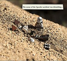 Speeder Accident by Bean Strangeways