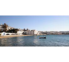 Mykonos seascape Photographic Print