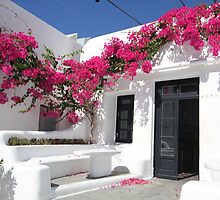 Mykonos colors by kateabell