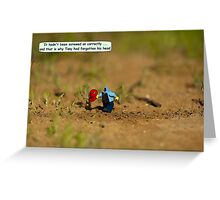 Forgetfulness Greeting Card