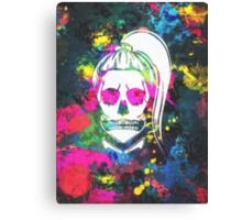 Born This Way Splatter Canvas Print