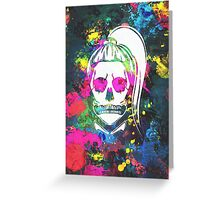 Born This Way Splatter Greeting Card