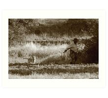shepherd Art Print