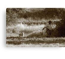 shepherd Canvas Print