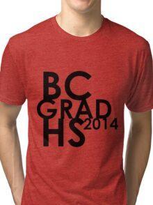BCHS GRAD 2014  Tri-blend T-Shirt