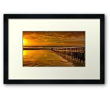 """""""Torquay Golden Morning"""" Framed Print"""