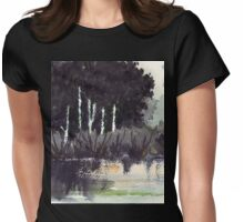 The river trees... Womens Fitted T-Shirt