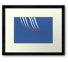 The red arrows at Air Bourne in Eastbourne Framed Print