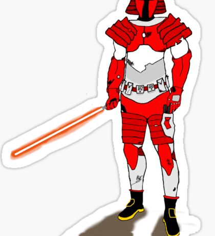 Merome Conturas - Jedi Knight Bounty Hunter Sticker