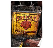Old SHELL Can - Mt Wilson NSW Australia Poster