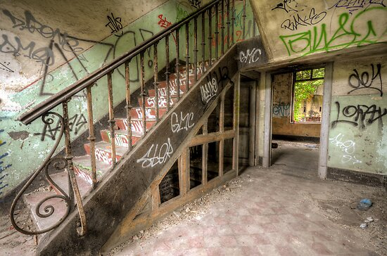 good old stairs by Nicole W.