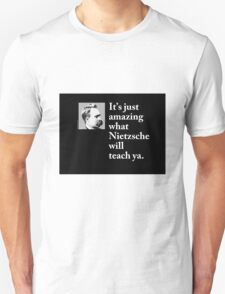 Nietzsche - Philosophy T Shirt (available in other formats) Unisex T-Shirt