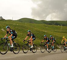 Team Sky by Eamon Fitzpatrick